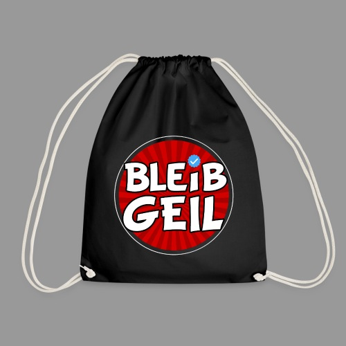 BleibGeil Rot - Turnbeutel