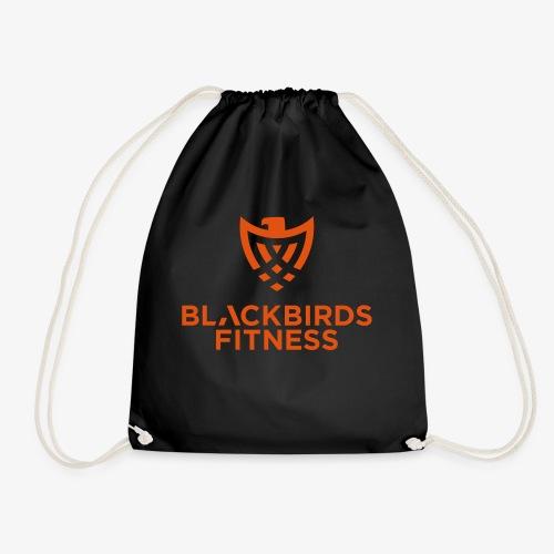 Blackbirds Fitness Logo orange - Turnbeutel