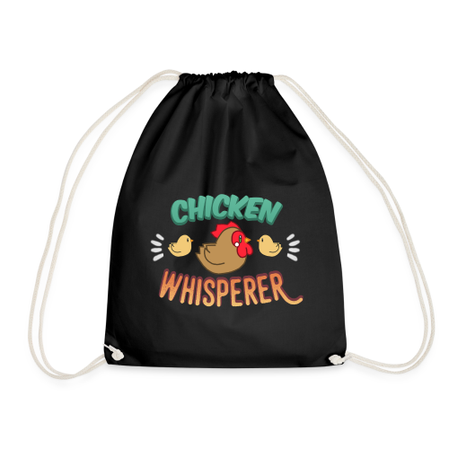 Chicken Whisperer - Drawstring Bag