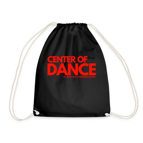 CENTER OF DANCE - Turnbeutel