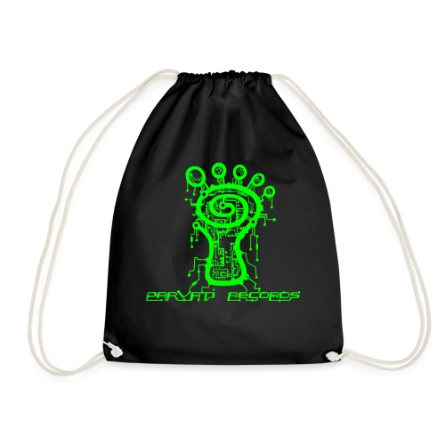 Parvati Records Matrix logo - Drawstring Bag
