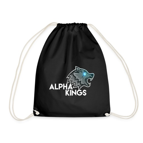 logo Alpha Kings white - Sac de sport léger