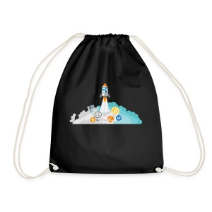 XRP Crypto To the moon and beond! - Drawstring Bag