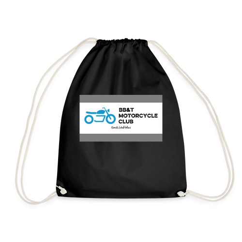 The original BB&T Motorcycle Club - Drawstring Bag