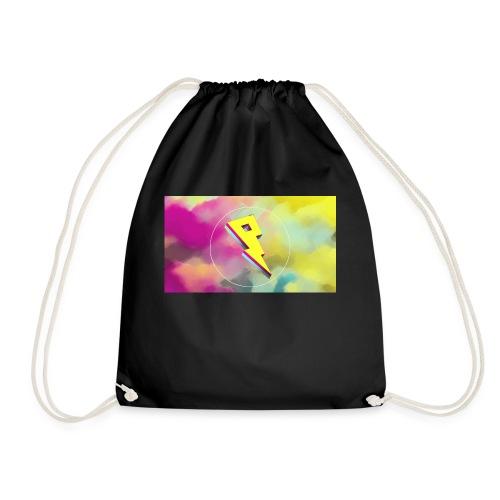 lightning bolt - Drawstring Bag