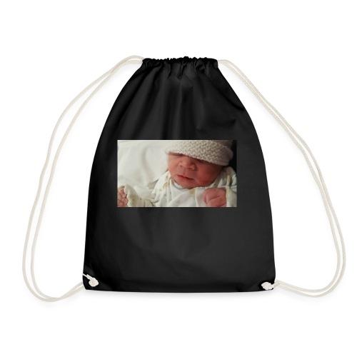 baby brother - Drawstring Bag
