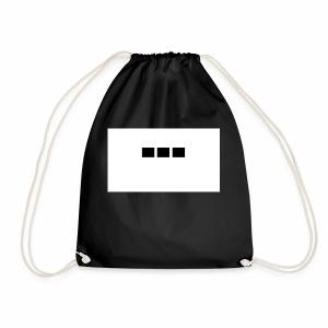 dot dot dot - Drawstring Bag