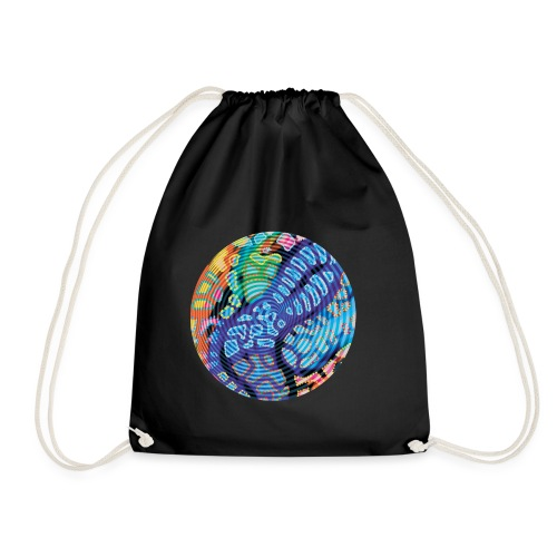 concentric - Drawstring Bag