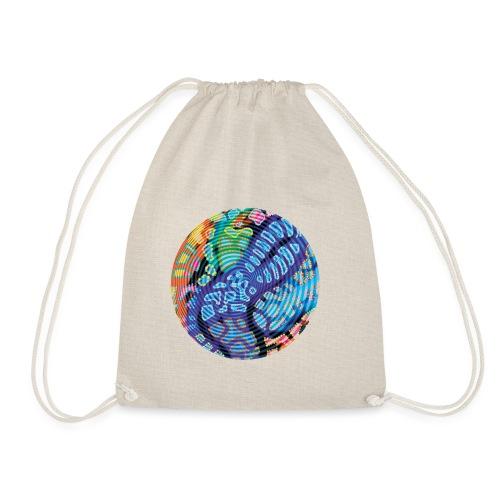 concentric - Drawstring Bag