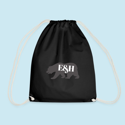 Wild bear design ~ E&H Woodland Collection - Drawstring Bag