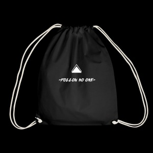 FOLLOW NO ONE - Mochila saco