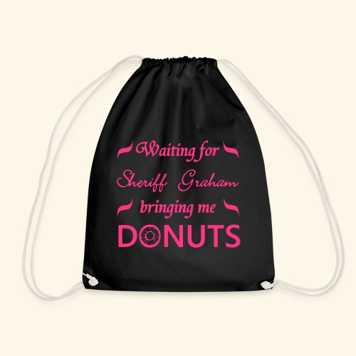Sheriff Graham Donuts - Drawstring Bag