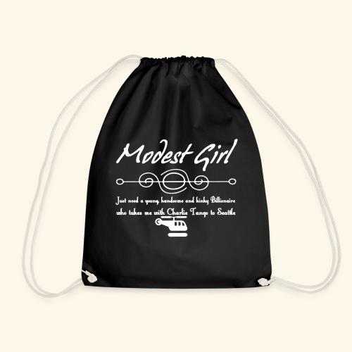 Modest Girl Shirts - Drawstring Bag