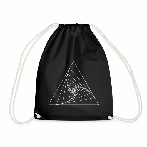 Triangle white - Sac de sport léger