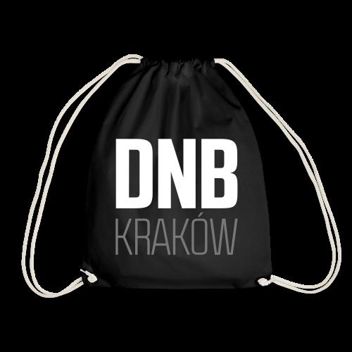 DNB KRAKÓW SQ BLACK - Worek gimnastyczny