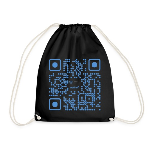 QR Maidsafe.net - Drawstring Bag