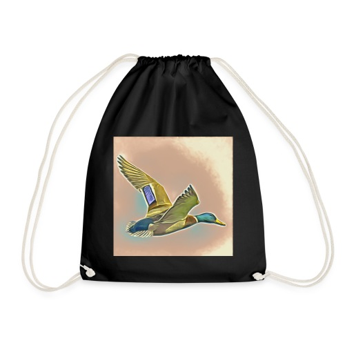 Flying Duck - Drawstring Bag