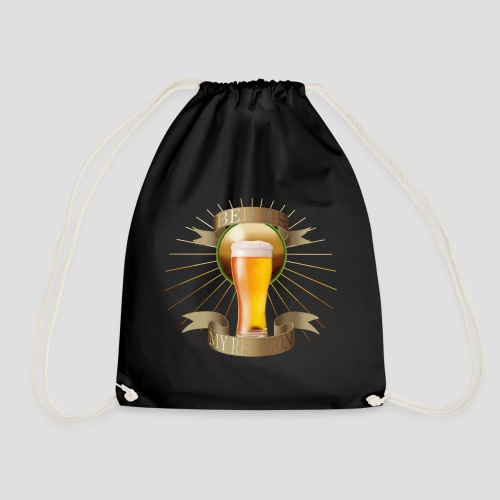 Beer is my religion - Sac de sport léger