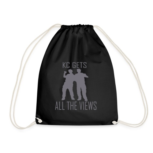 KC Gets All The Views - Drawstring Bag