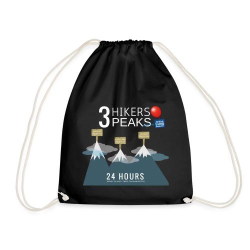 3 Hikers 3 Peaks - Drawstring Bag