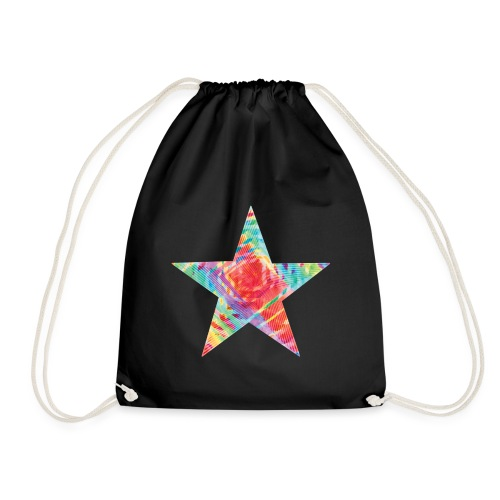 Color star of david - Drawstring Bag