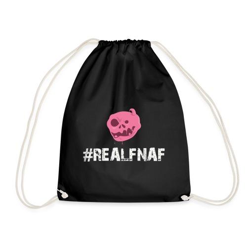 Bubblegummonsters #RealFnaf WHT - Drawstring Bag