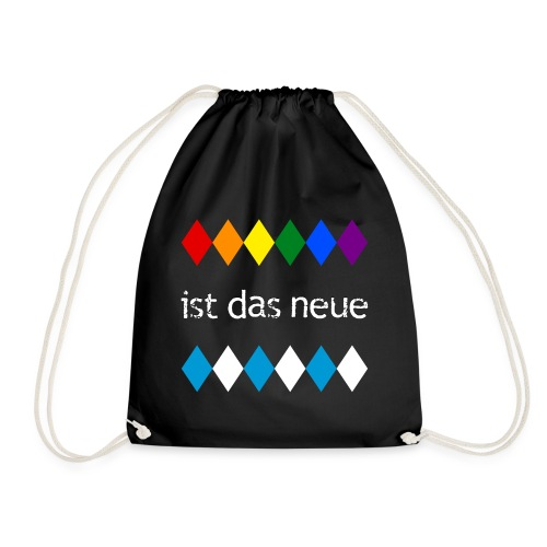 Colorful is the new white-blue - Drawstring Bag