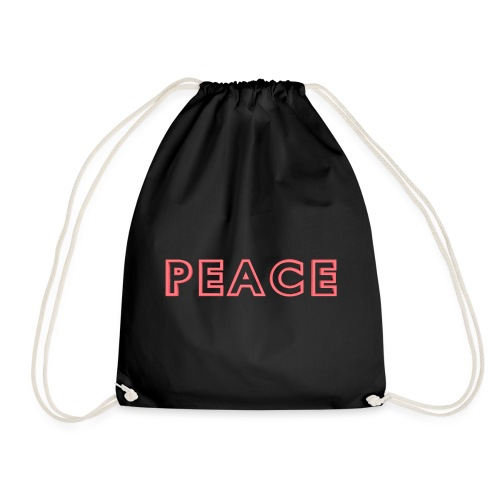 Peace Logo - Drawstring Bag