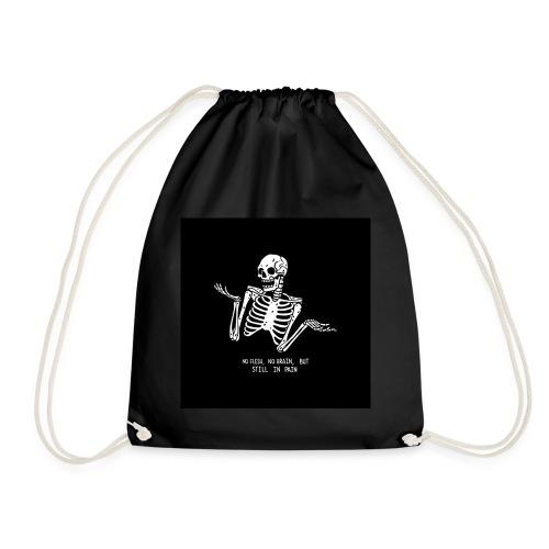 Tumblr skeleton - Turnbeutel