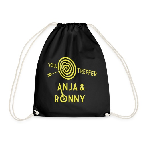 Anja und Ronny - Turnbeutel