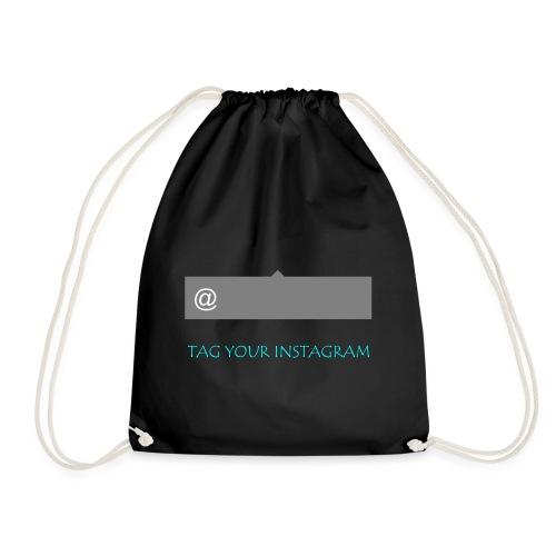 Tag your instagram - Drawstring Bag