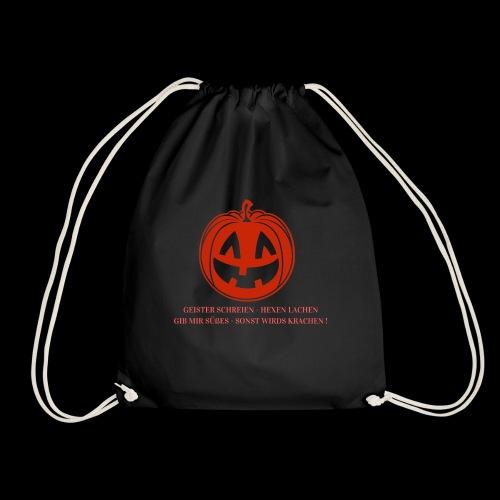 Halloween Spruch Promotion - Turnbeutel