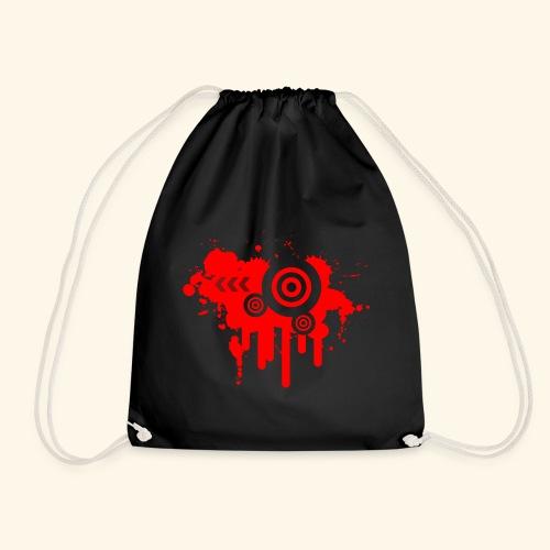 Grunge Vector Red! - Drawstring Bag