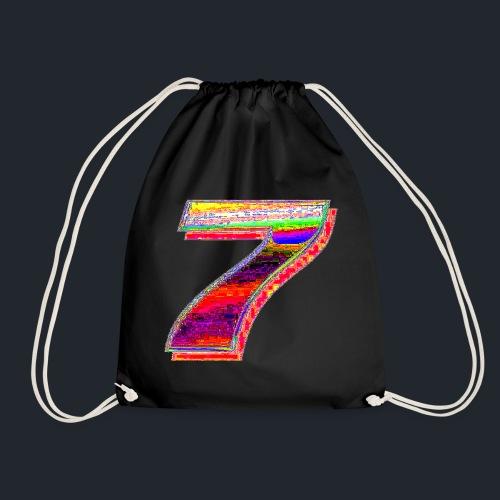 Deep Fried 7 (meme) - Drawstring Bag