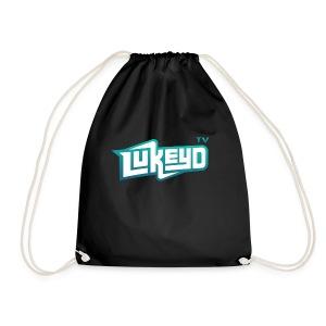 lukeyD TV Logo - Drawstring Bag