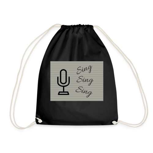 Sing Sing Sing - Drawstring Bag