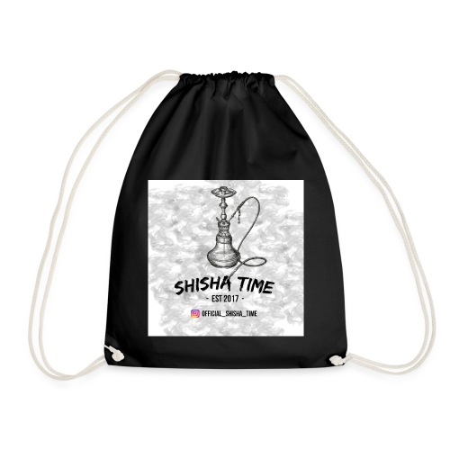 Official Shisha Time Logo - Turnbeutel