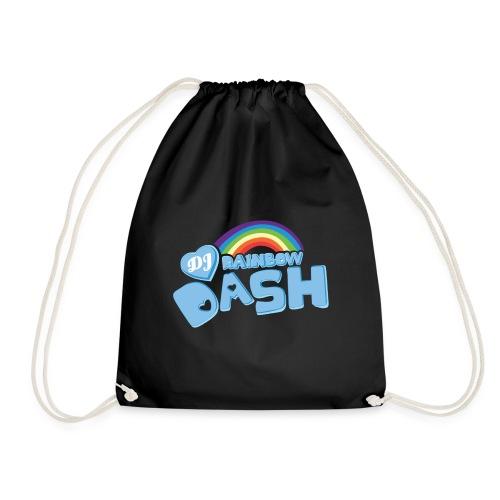 Rainbow Dash Logo neu - Turnbeutel
