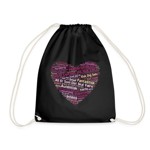 Hjerte - Sportstaske