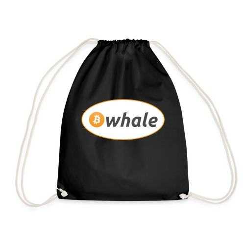Bitcoin Whale - Drawstring Bag