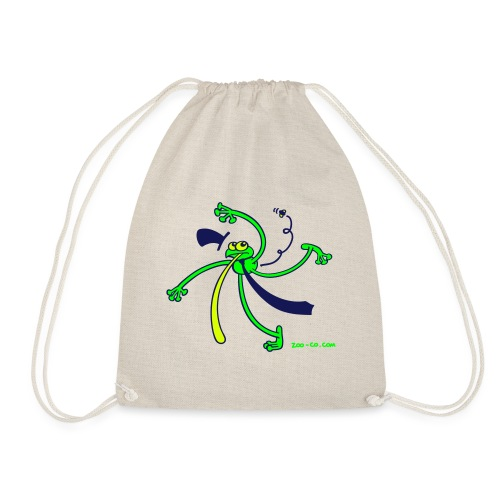 Dancing Frog - Drawstring Bag