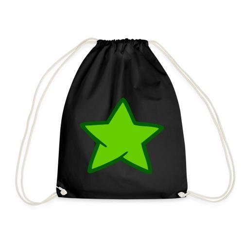 Estrella verde - Mochila saco