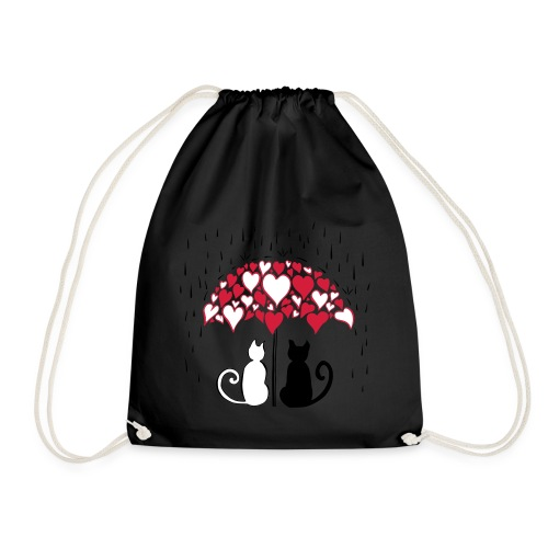 AD Lovely cats II - Drawstring Bag