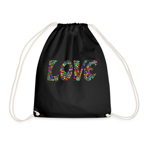 Second Isle of Love - Drawstring Bag