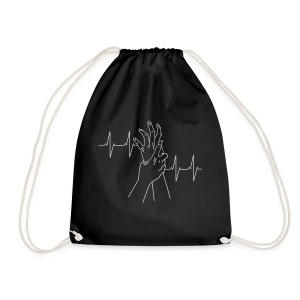 heartbeat - Drawstring Bag