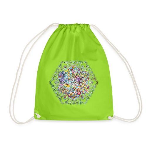 Flower Mandala - Drawstring Bag