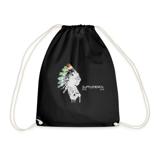 Vibrant cherokee design. - Drawstring Bag