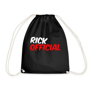 Rickofficial 2d logo trui - Gymtas