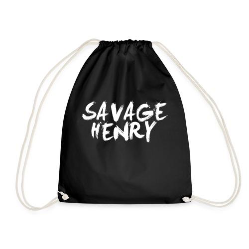 Savage Henry Logo - Drawstring Bag