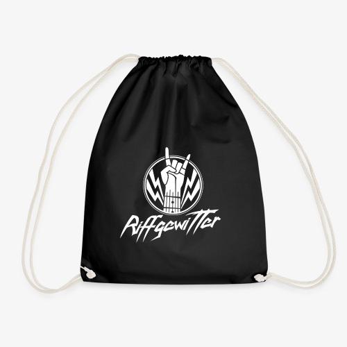 Riffgewitter - Hard Rock und Heavy Metal - Turnbeutel
